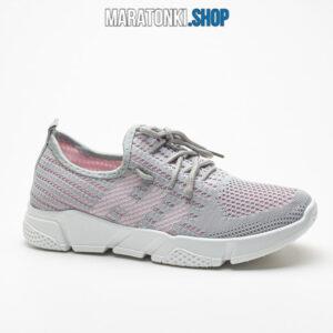 Дамски сиви маратонки