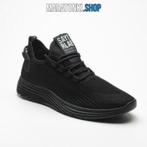 Черни текстилни маратонки